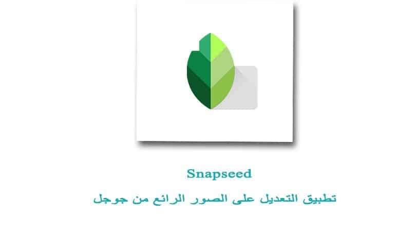 تحميل تطبيق سناب سيد Snapseed للاندرويد والايفون تنزيل